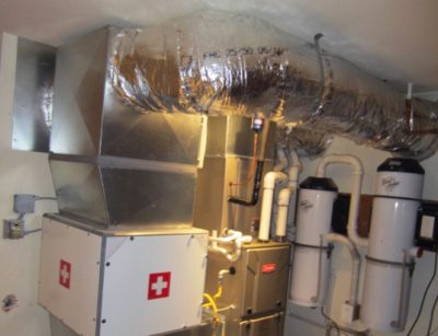 Properly installed duct work